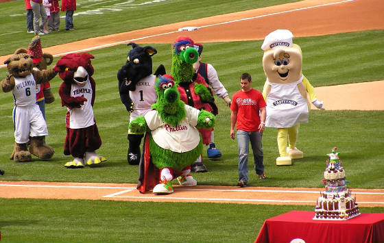 The Phanatics Birthday Party - Citizens Bank Park