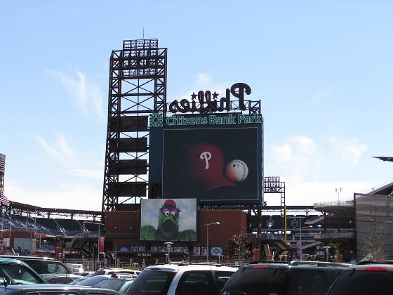 Exterior of Citizens Bank Park - LF