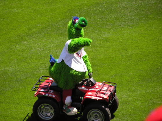 Citizens Bank Park - The Phanatic