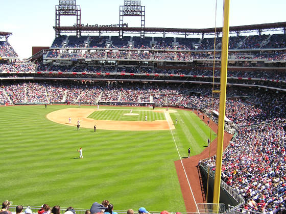From LF - Citizens Bank Park