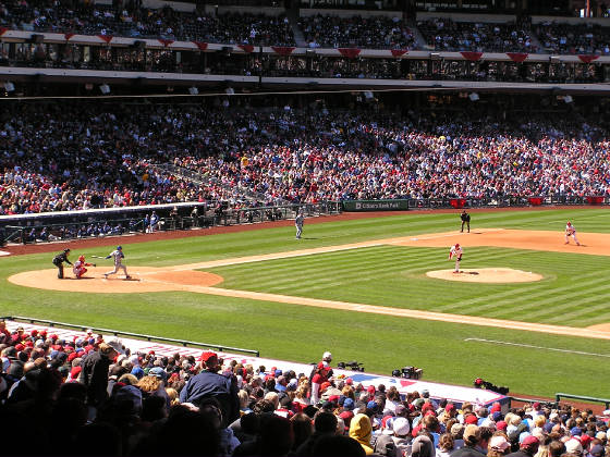 Citizens Bank Park - From 1st base